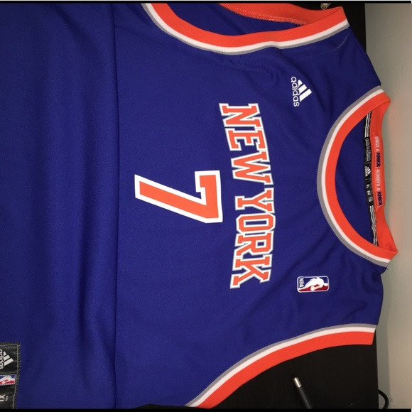 various colors 96205 d02e2 Adidas Carmelo Anthony Knicks jersey XL